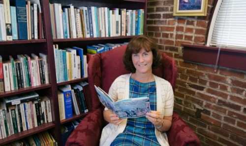 Suzanne Flynn, Associate Professor of English, never tires of reading Thomas Hardy's novels.
